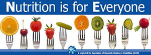 Nutrition is for Everyone News banner