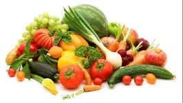 Image of several fruits and vegetables
