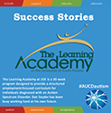Successes from the Learning Academy: Prepping autistic youth for work