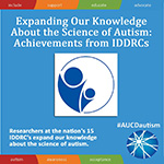 Expanding Our Knowledge About the Science of Autism: Achievements from IDDRCs