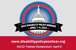 2014 Disability Policy Seminar Trainee Symposium