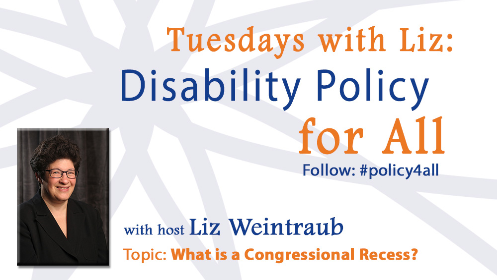 Tuesdays with Liz: What is a Congressional Recess?