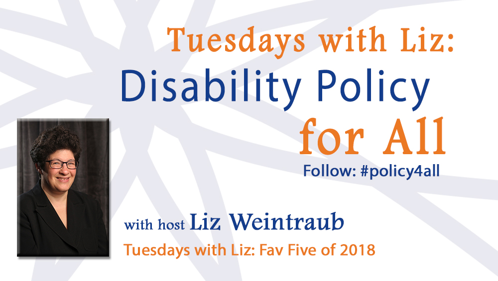 Tuesdays with Liz: Fav Five of 2018