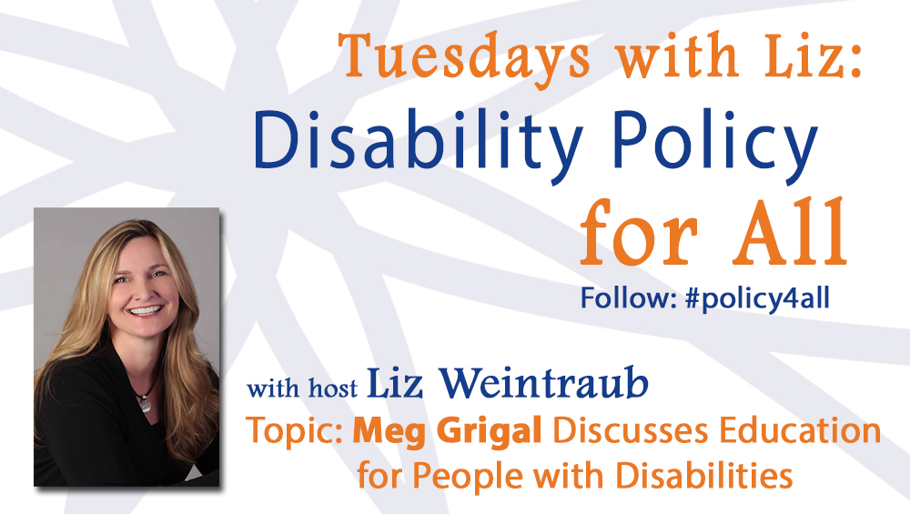 Meg Grigal Discusses Education for People with Disabilities