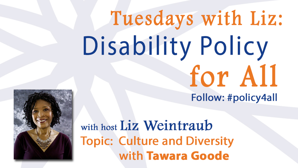 Tuesdays with Liz: Culture and Diversity with Tawara Goode
