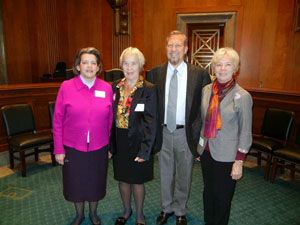 AUCD Members Attend Ceremony Honoring Senator Bob Dole