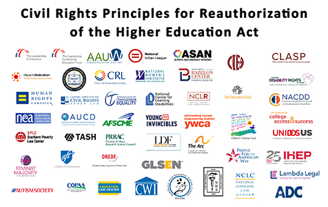 ECP: NGSD - Civil Rights Principles for the Reauthorization of the