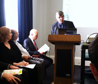 Dr. Antosh speaks at the Congressional Autism Caucus Briefing on April 23, 2015