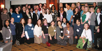 AUCD Trainees at DPS 08