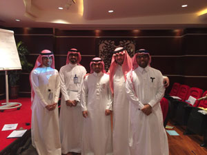 photo: Saudia Arabian staff