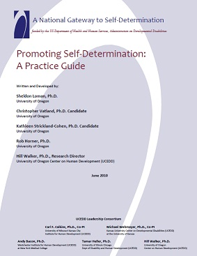 Cover Image for Promoting Self-Determination: A Practice Guide