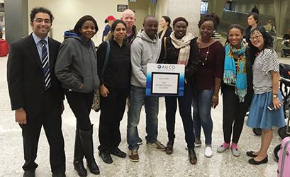 They're here! Fall2017 ADA International Fellows from Peru, Kenya & Tanzania