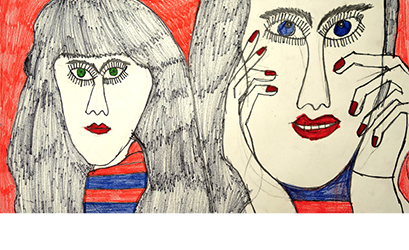 Artists with developmental disabilities explore the meaning of femininity