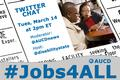 #Jobs4ALL Twitter Chat: Disability Employment Statistics