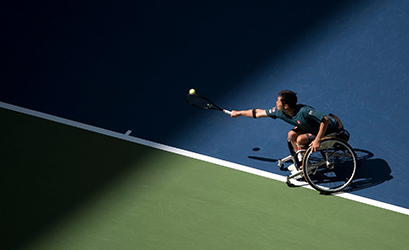 The Man Who Keeps the Wheels Turning at the U.S. Open