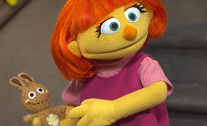 The subtle brilliance of Sesame Street's first episode starring an autistic Muppet.