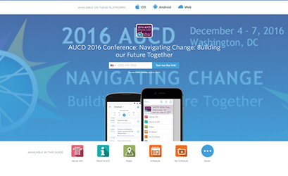 AUCD 2016 Conference App Available