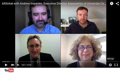 AXSchat with Andy Imparato, AUCD Executive Director