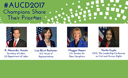 More High Level Speakers are Coming to AUCD2017