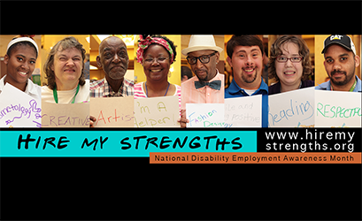 Welcome to the Hire My Strengths social media campaign!