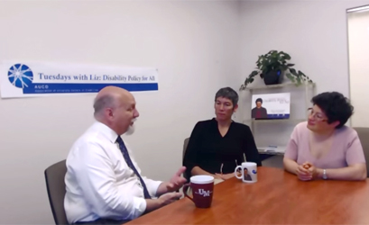Liz interviews Kim Musheno and Michael Gamel-McCormick about the ESEA