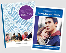 Vanderbilt Kennedy Center (TN IDDRC, UCEDD, LEND) Produces Two New Toolkits on Goal-setting, Puberty and Sexuality for Teens and Young Adults with Autism